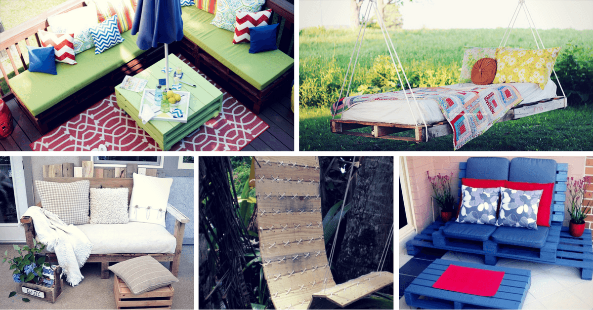 outdoor pallet furniture ideas. Best DIY Outdoor Pallet Furniture Ideas