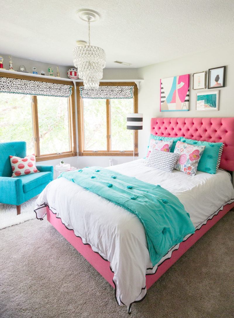 23 stylish teen girl s bedroom ideas homelovr - Room decor ideas for girls ...