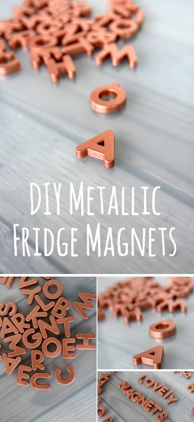 Copper Fridge Magnets