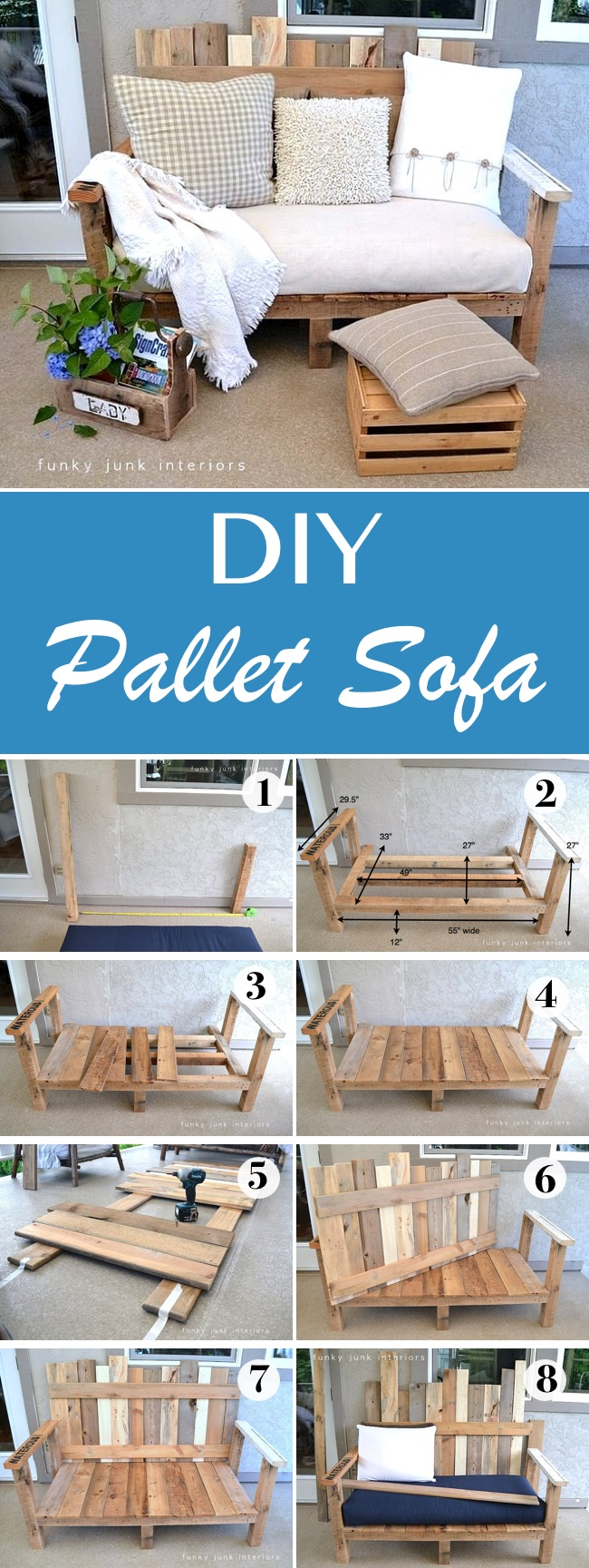 15 Best Diy Outdoor Pallet Furniture Ideas Homelovr