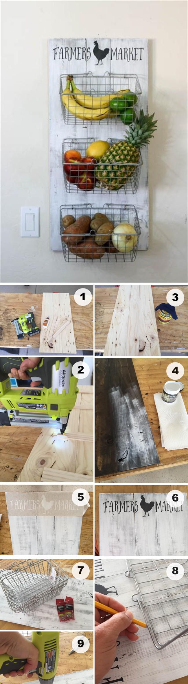 rack produce handy girl pretty diy wooden