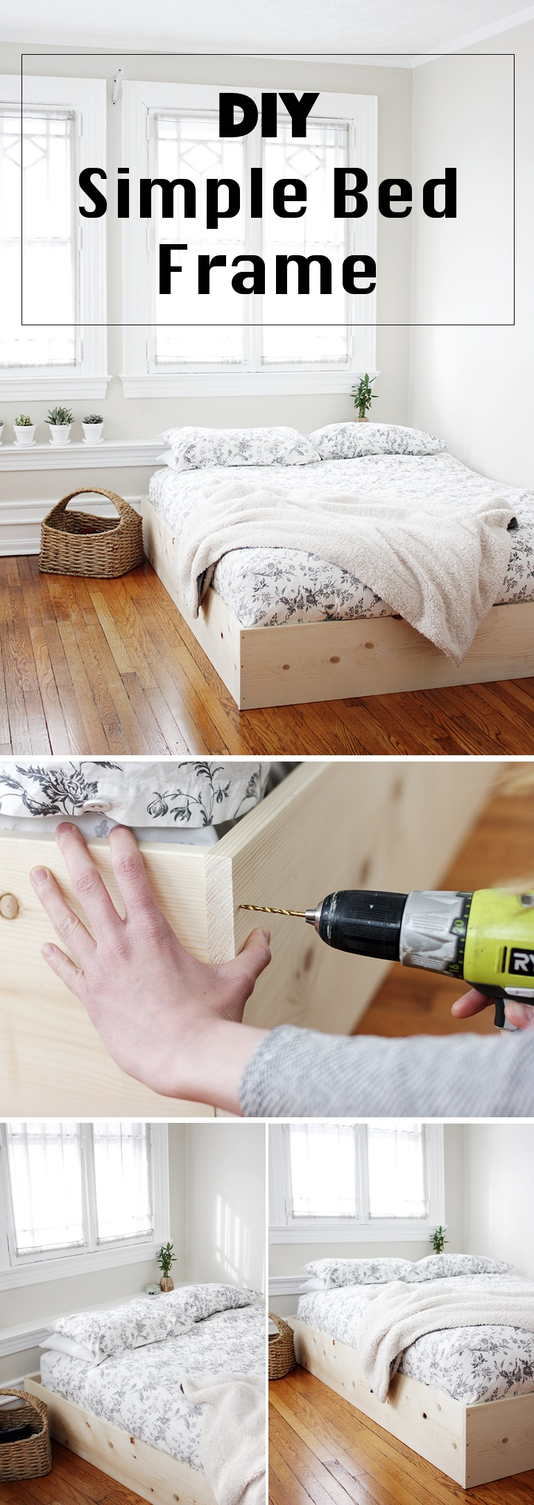 36 Easy DIY Bed Frame Projects to Upgrade Your Bedroom ...