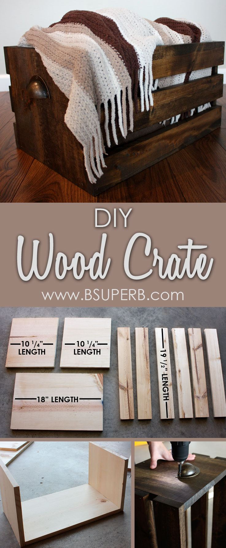 DIY Wood Crate