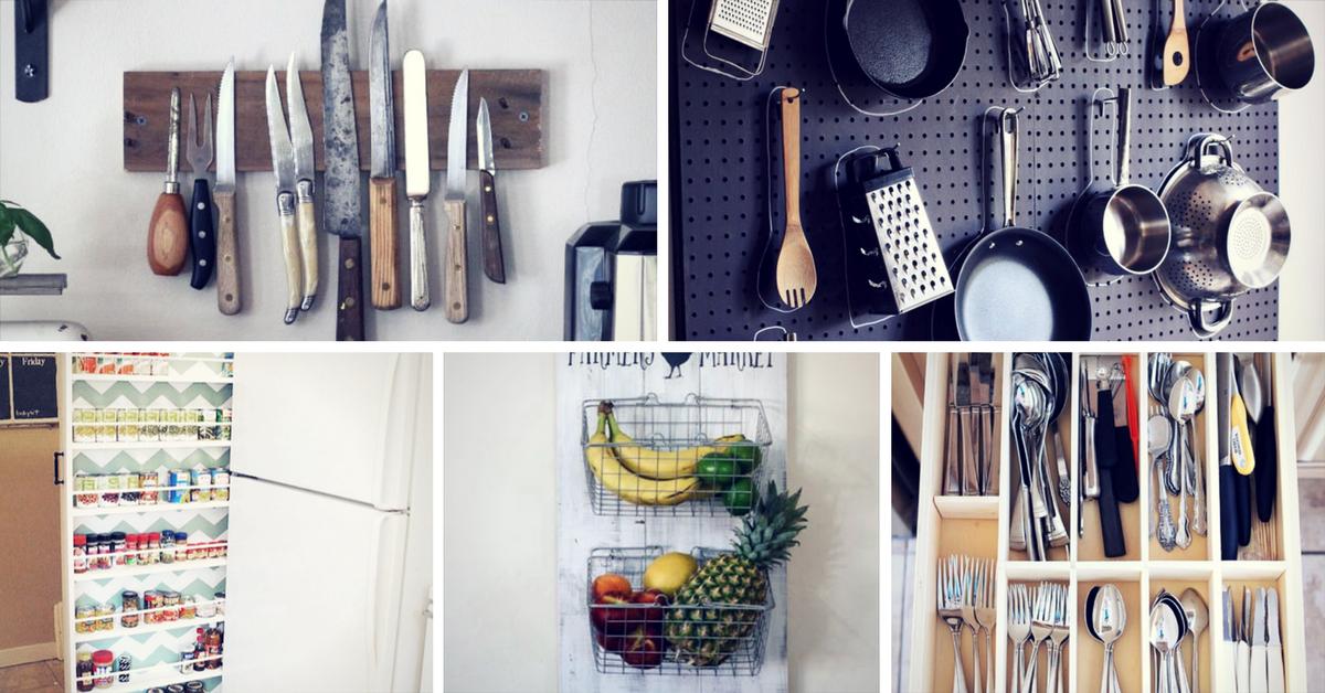 Good Innovative Kitchen Storage Ideas Part - 14: Innovative DIY Kitchen Organization U0026 Storage Ideas