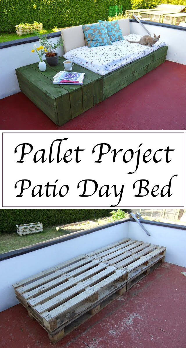 Pallet Project Patio Day Bed