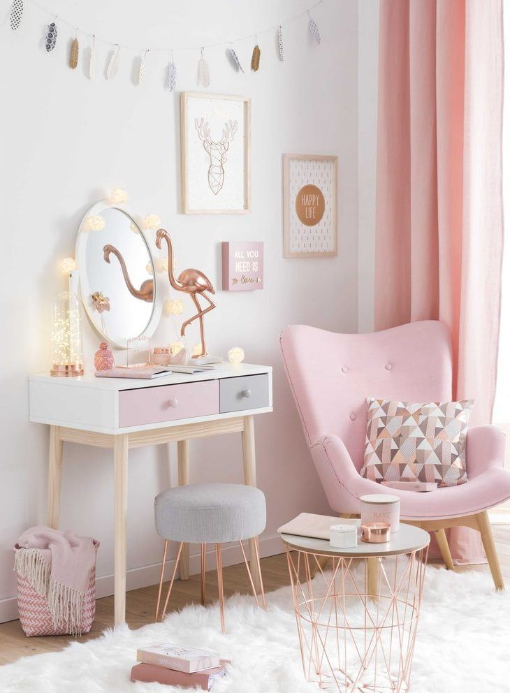 40 Stylish Teen Girl's Bedroom Ideas Homelovr Enchanting Decorating Ideas For Teenage Girl Bedroom