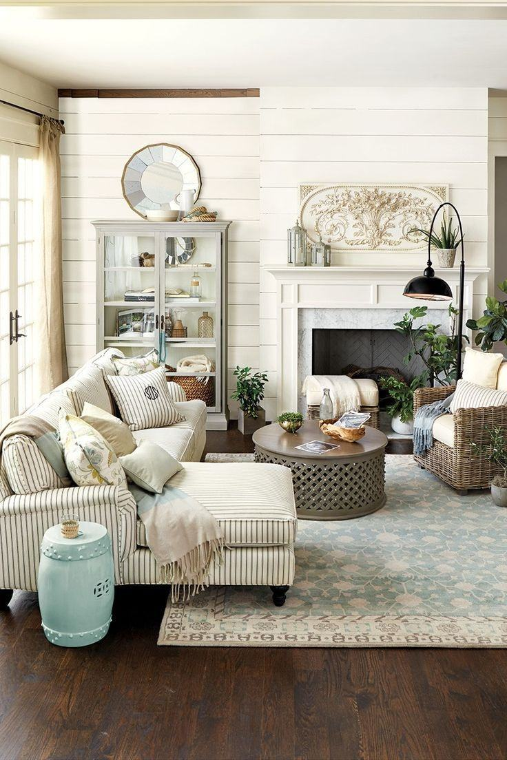 27 rustic farmhouse living room decor ideas for your home for Living room ideas rustic