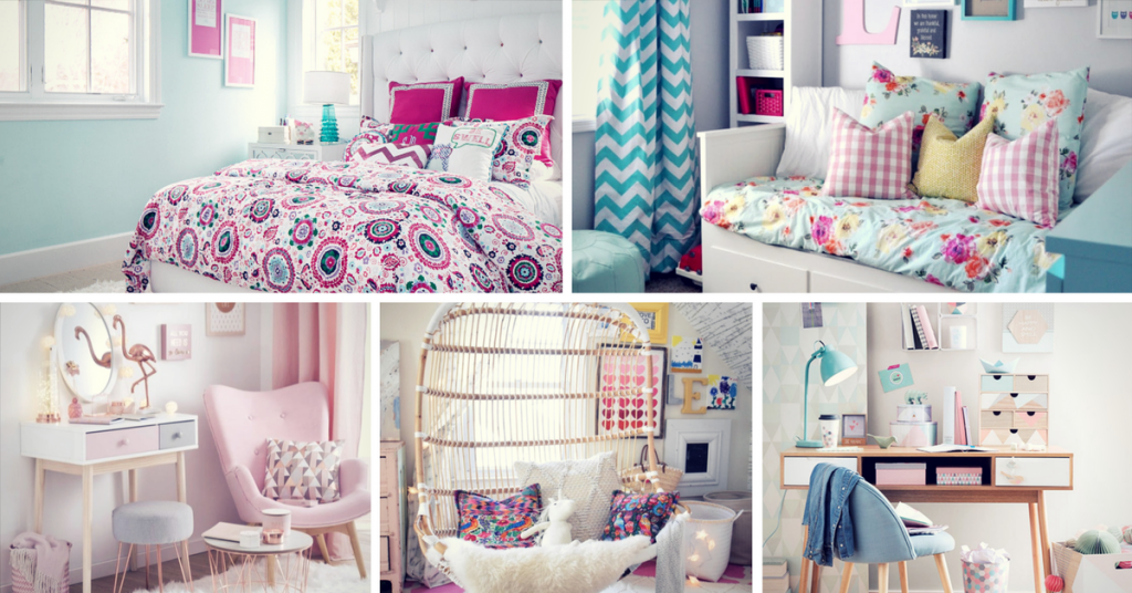 Stylish Teen Girl's Bedroom
