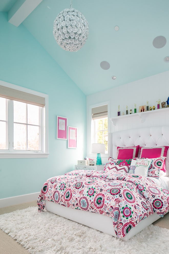 Turquoise And Pink