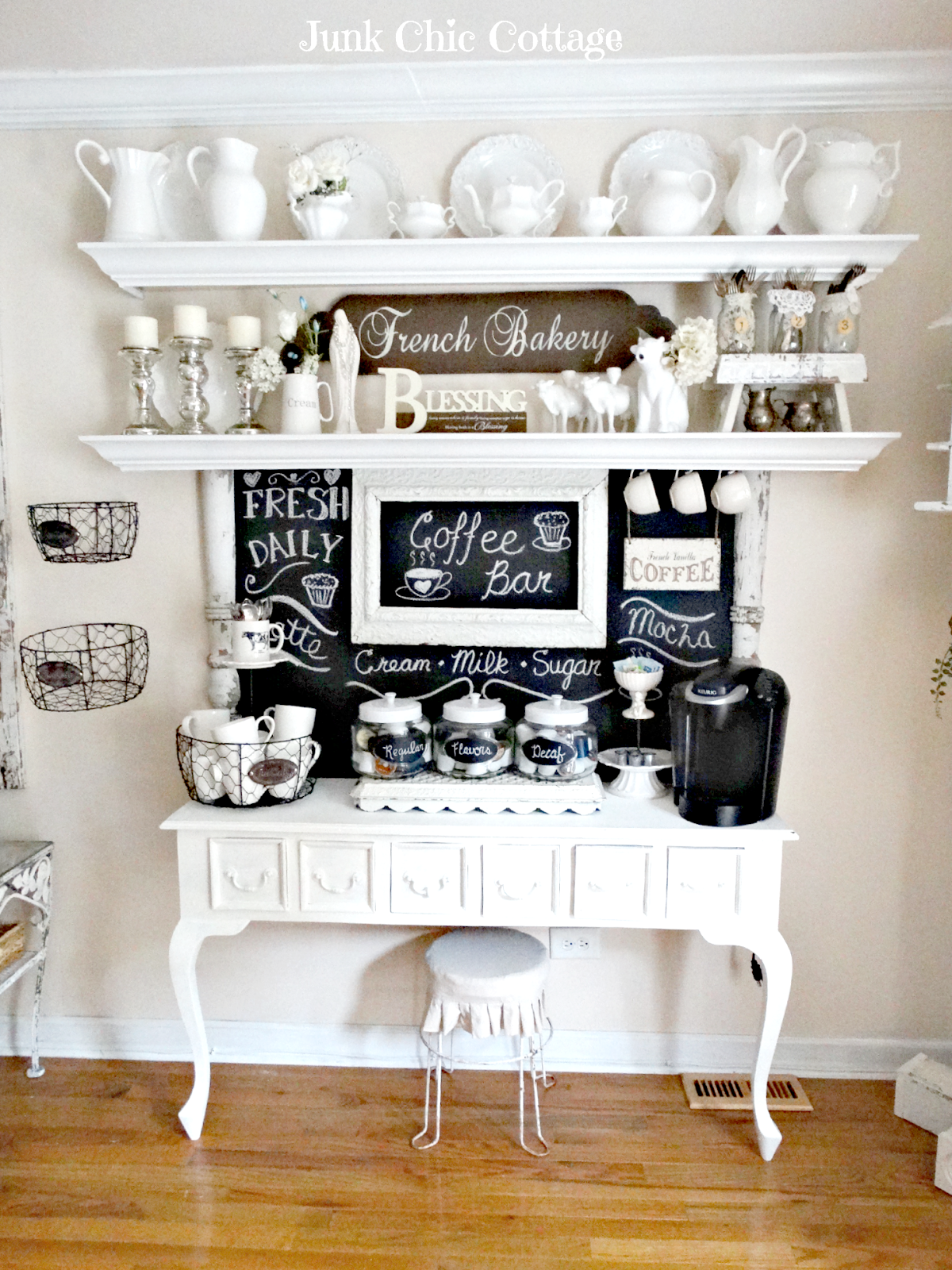 30 Charming DIY Coffee Station Ideas for All Coffee Lovers ...