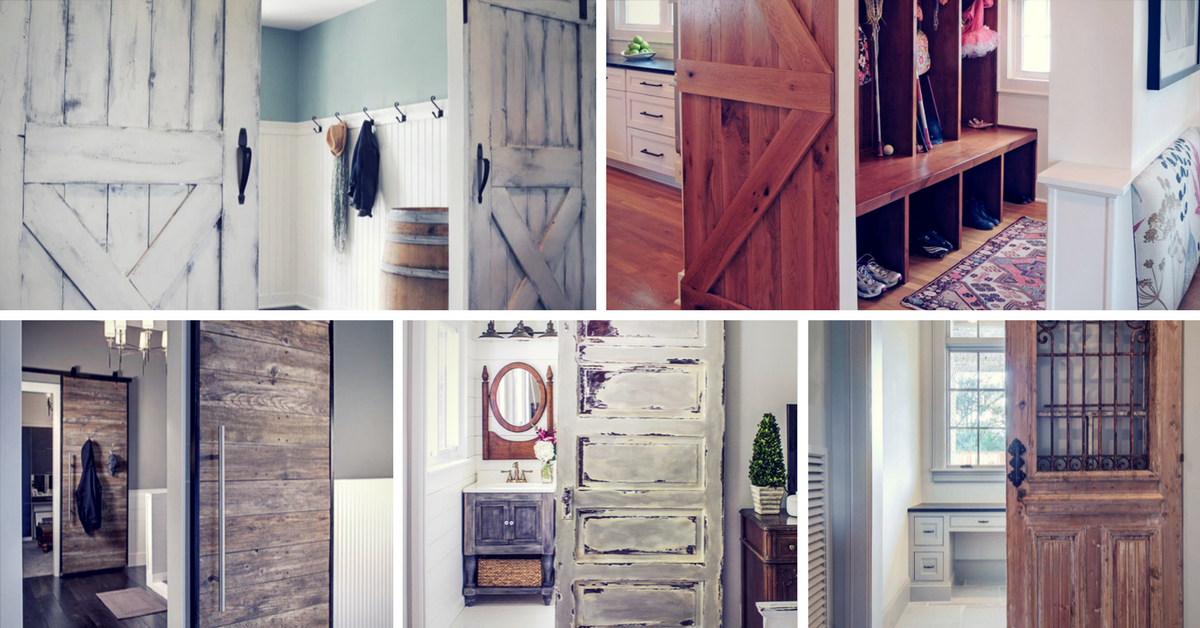Barn Door Design Ideas: 27 Awesome Sliding Barn Door Ideas For The Home