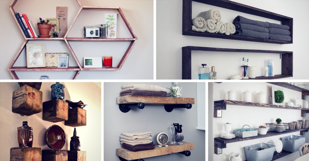 Brilliant DIY Shelves You Can Build Yourself