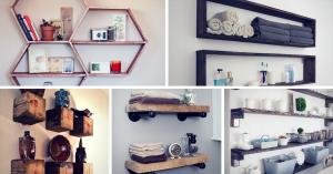 Brilliant DIY Shelves You Can Build Yourself