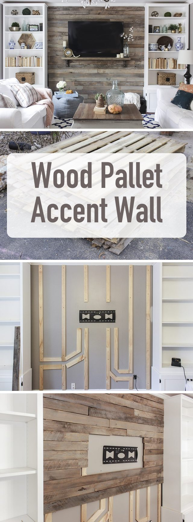 Create a Wood Pallet Accent Wall 15