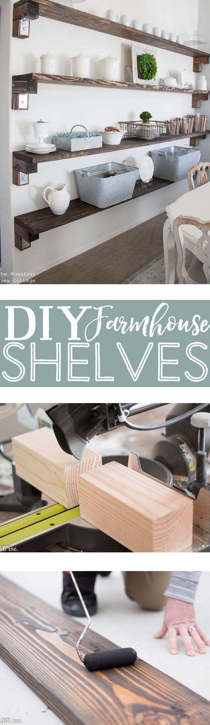 15 Brilliant DIY Shelves You Can Build Yourself - Homelovr