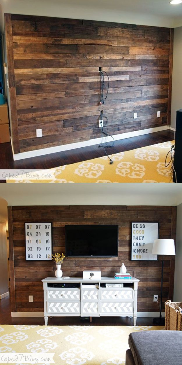 Pallet Wall Kitchen
