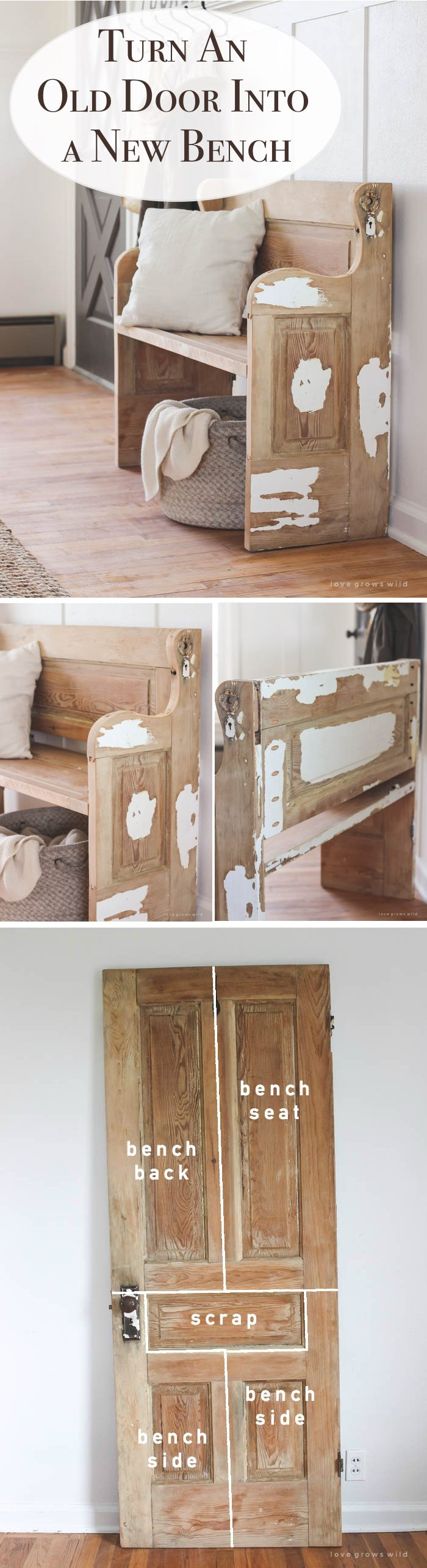 Superb 19 Creative Diy Project Ideas Of How To Reuse Old Doors Beutiful Home Inspiration Truamahrainfo
