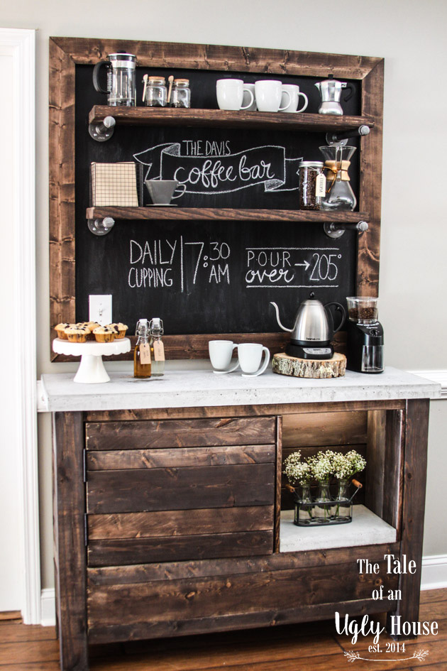 30 charming diy coffee station ideas for all coffee lovers for Coffee station ideas for the home