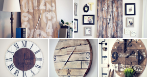 Rustic Wall Clock Ideas That Will Add a Touch of DIY to Any Space