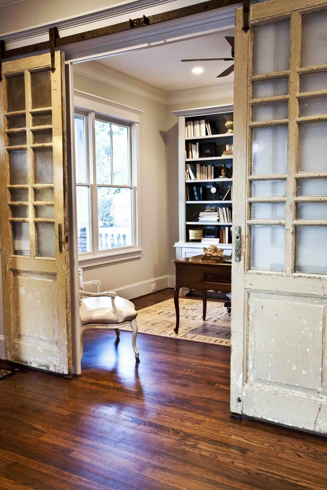 Study Room Door: 27 Awesome Sliding Barn Door Ideas For The Home