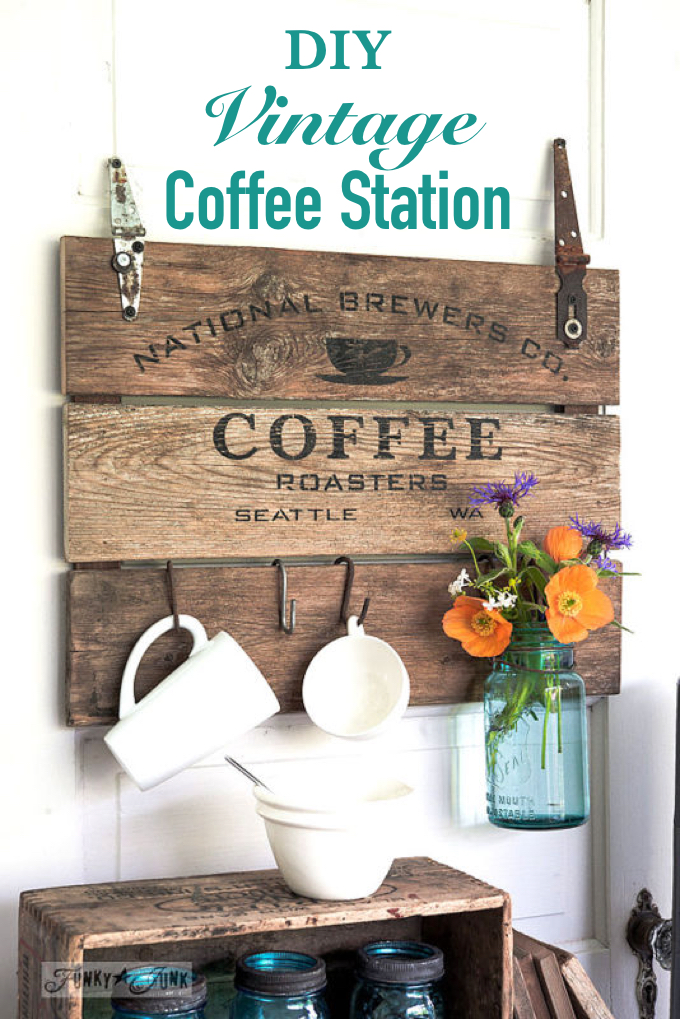 Vintage Coffee Station