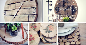 17 Creative Ways to DIY With Wood Slices