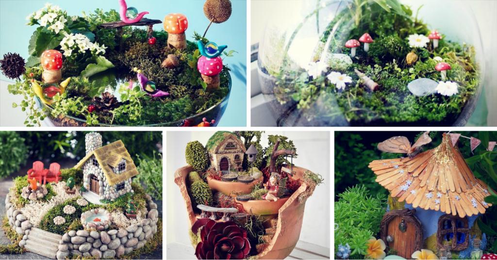 37 DIY Miniature Fairy Garden Ideas to Bring Magic Into ... - photo#26