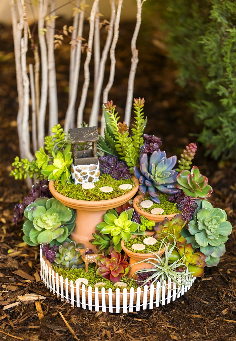 37 DIY Miniature Fairy Garden Ideas to Bring Magic Into ...