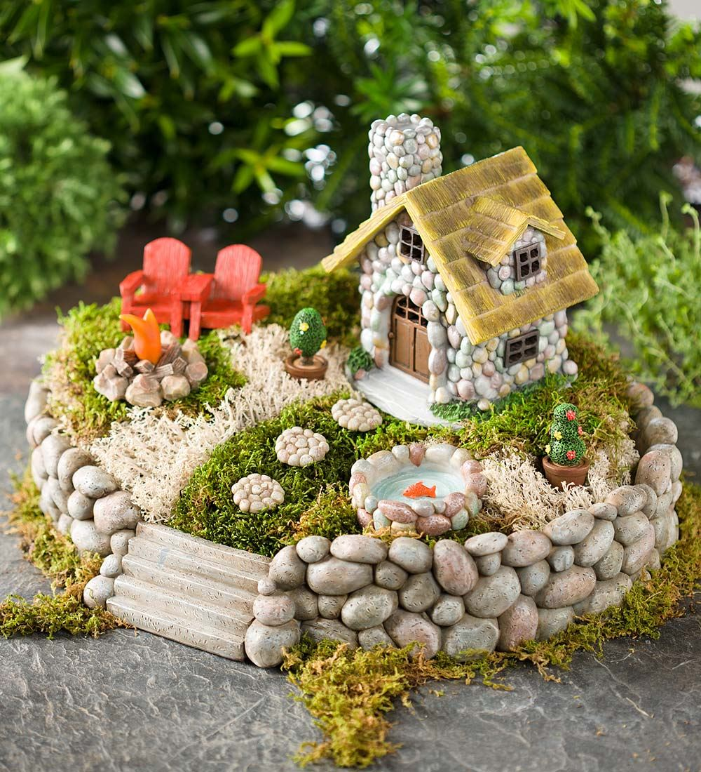 Fairy Garden Stepping Stones 37 diy miniature fairy garden ideas to bring magic into your home stone fairy house workwithnaturefo