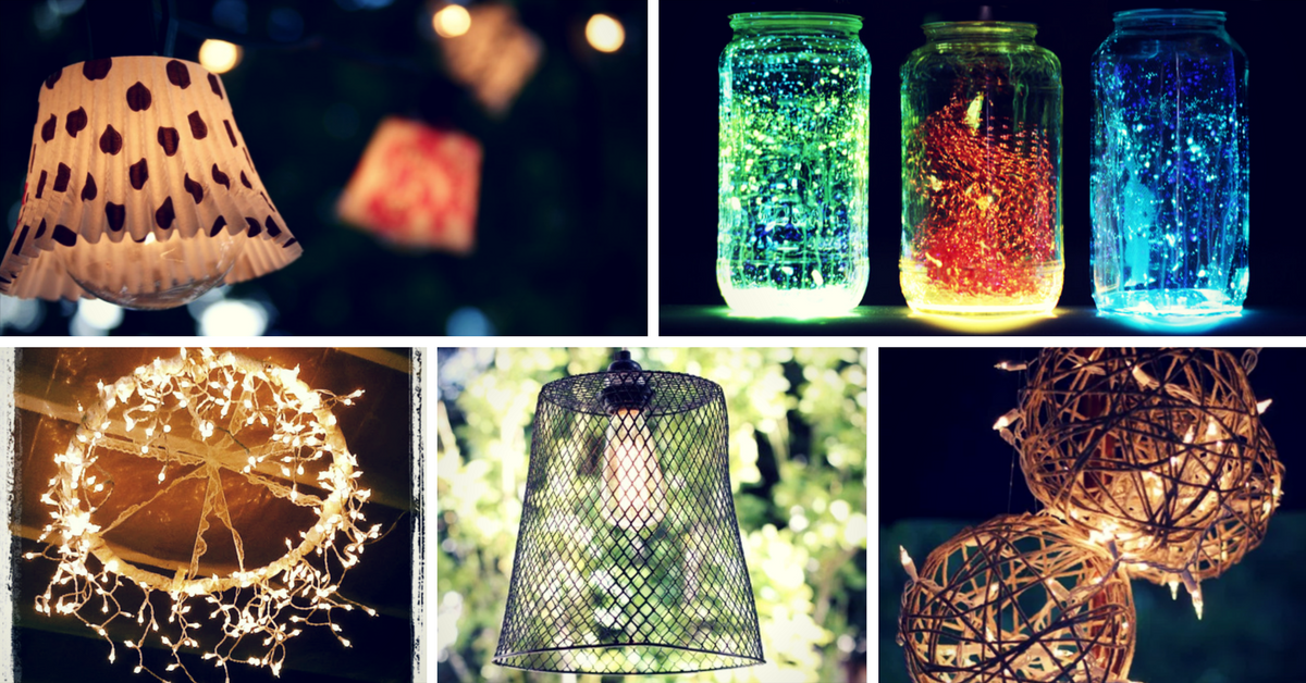 15 brilliant diy outdoor lighting ideas for summer homelovr brilliant diy outdoor lighting ideas for summer mozeypictures Images