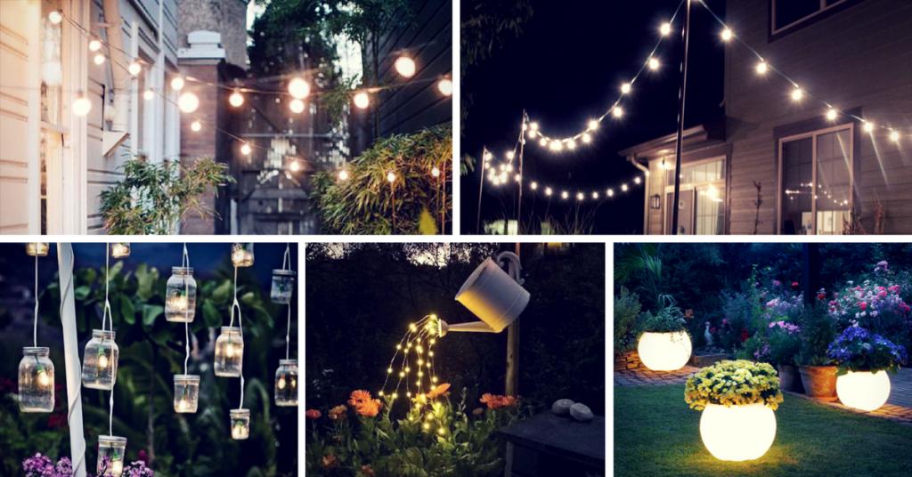 Inspiring Backyard and Patio Lighting Project Ideas