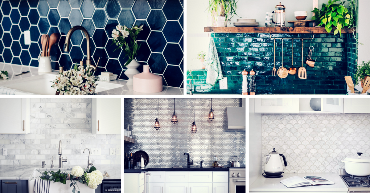 20 Kitchen Backsplash Ideas That Totally Steal the Show ...