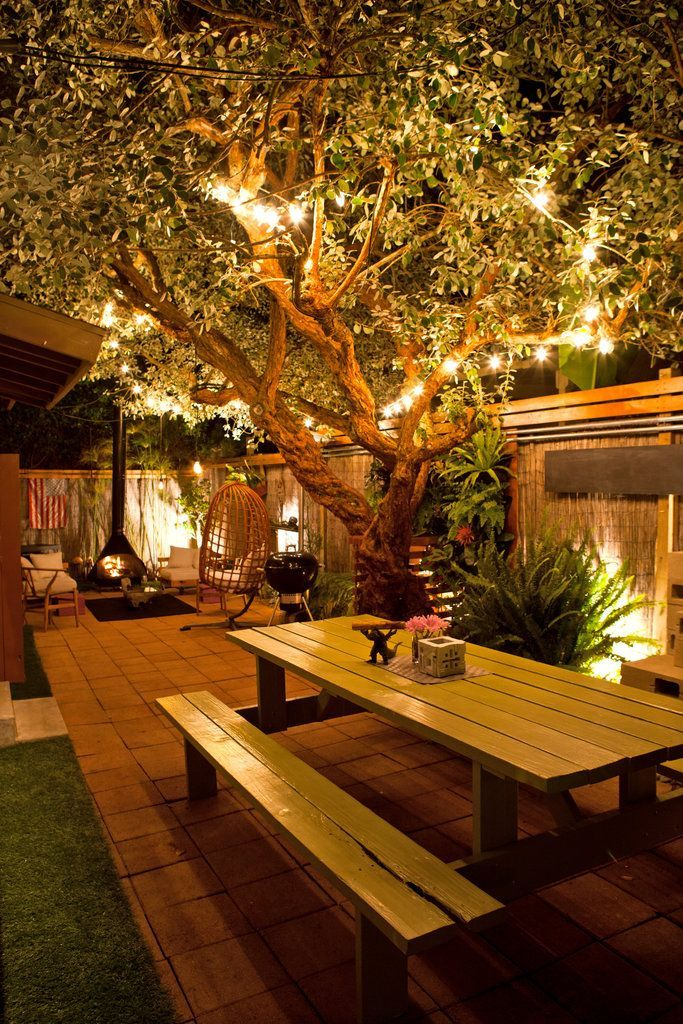 19 Inspiring Backyard And Patio Lighting Project Ideas