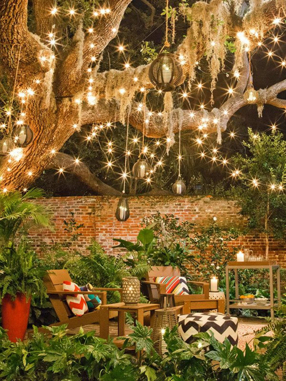 19 Inspiring Backyard and Patio Lighting Project Ideas