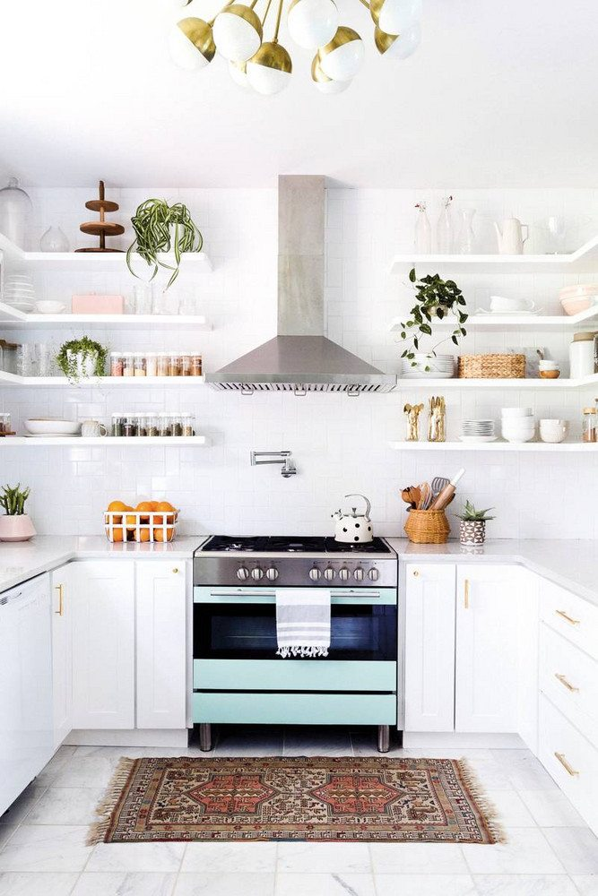 The Benefits Of Open Shelving In The Kitchen: 19 Gorgeous Kitchen Open Shelving That Will Inspire You