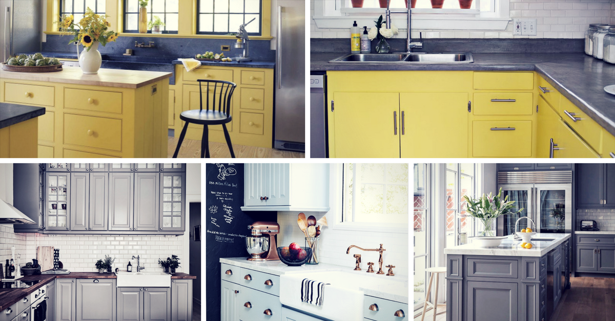 Kitchen Designs Colour Ideas ~ Gorgeous kitchen cabinet color ideas for every type of