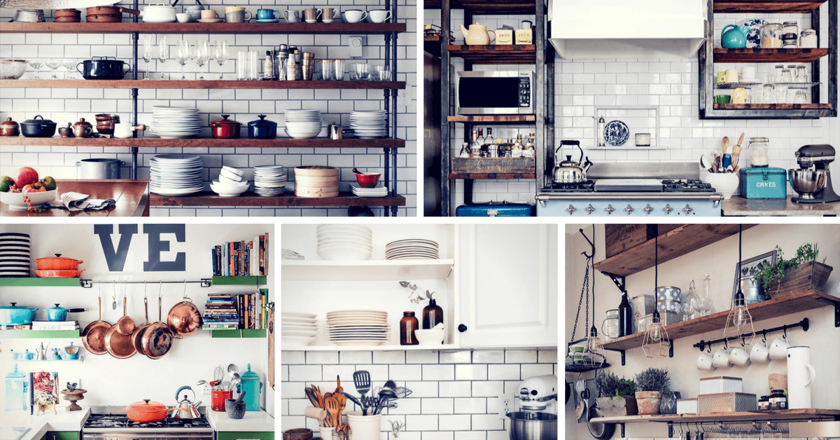Beautiful And Functional Storage With Kitchen Open: 19 Gorgeous Kitchen Open Shelving That Will Inspire You