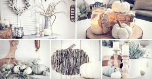 Cozy Farmhouse Style Fall Decor Ideas