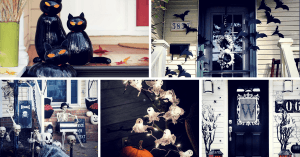 Easy DIY Halloween Outdoor Decoration Ideas