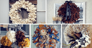 Gorgeous DIY Fall Wreath Ideas to Decorate Your Front Door