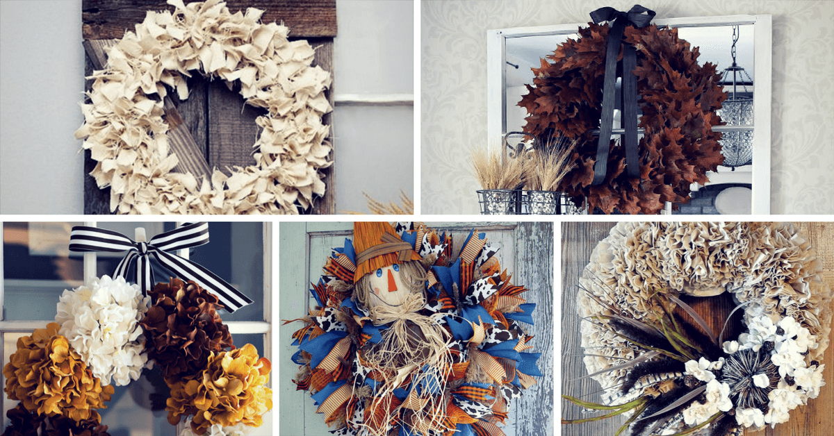 17 Gorgeous Diy Fall Wreath Ideas To Decorate Your Front Door Homelovr
