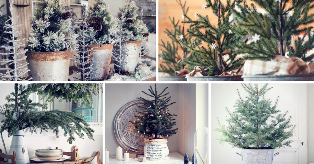 farmhouse christmas decor ideas - Farmhouse Christmas Decorating Ideas