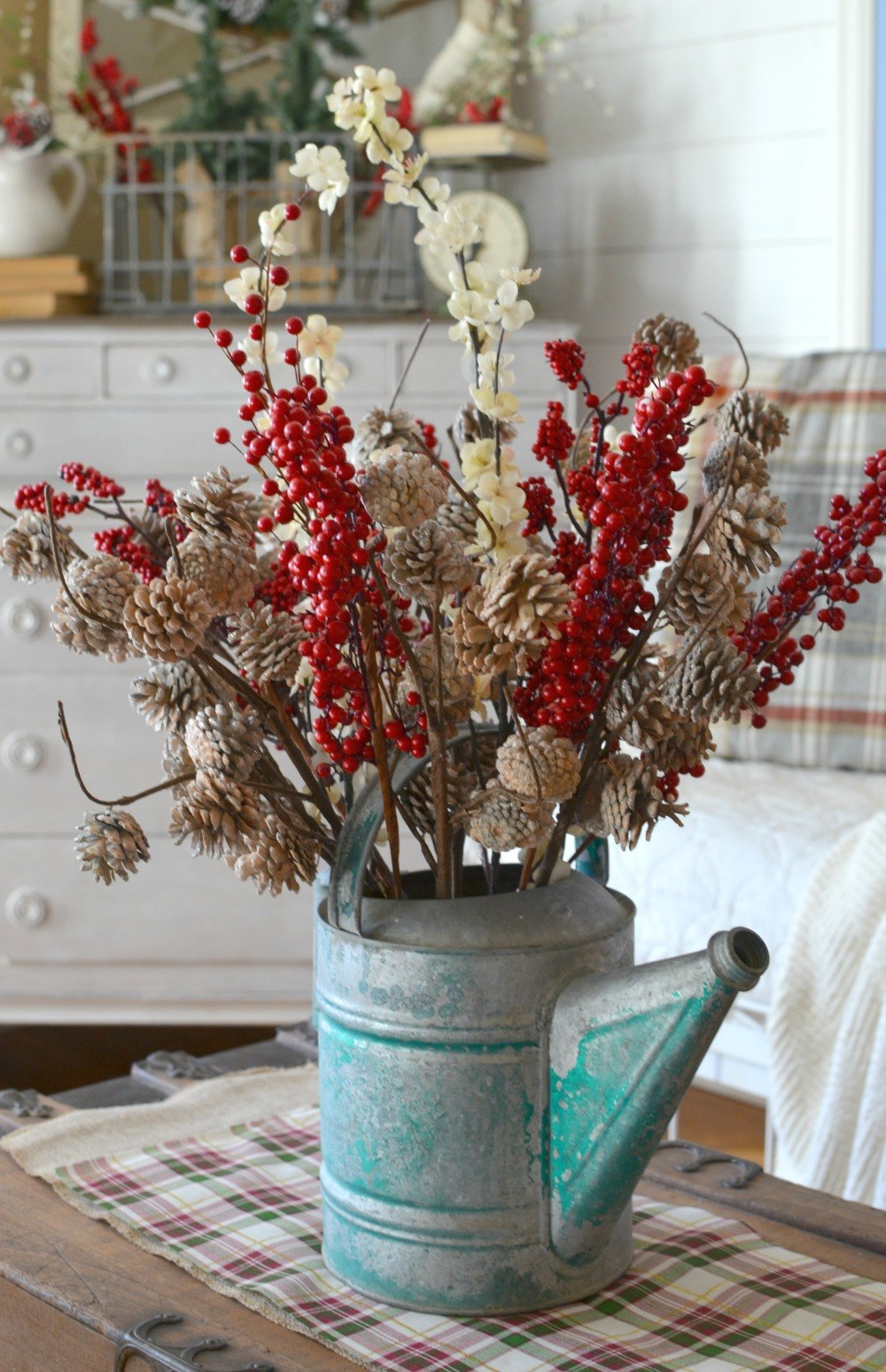 40 Farmhouse Christmas Decor Ideas