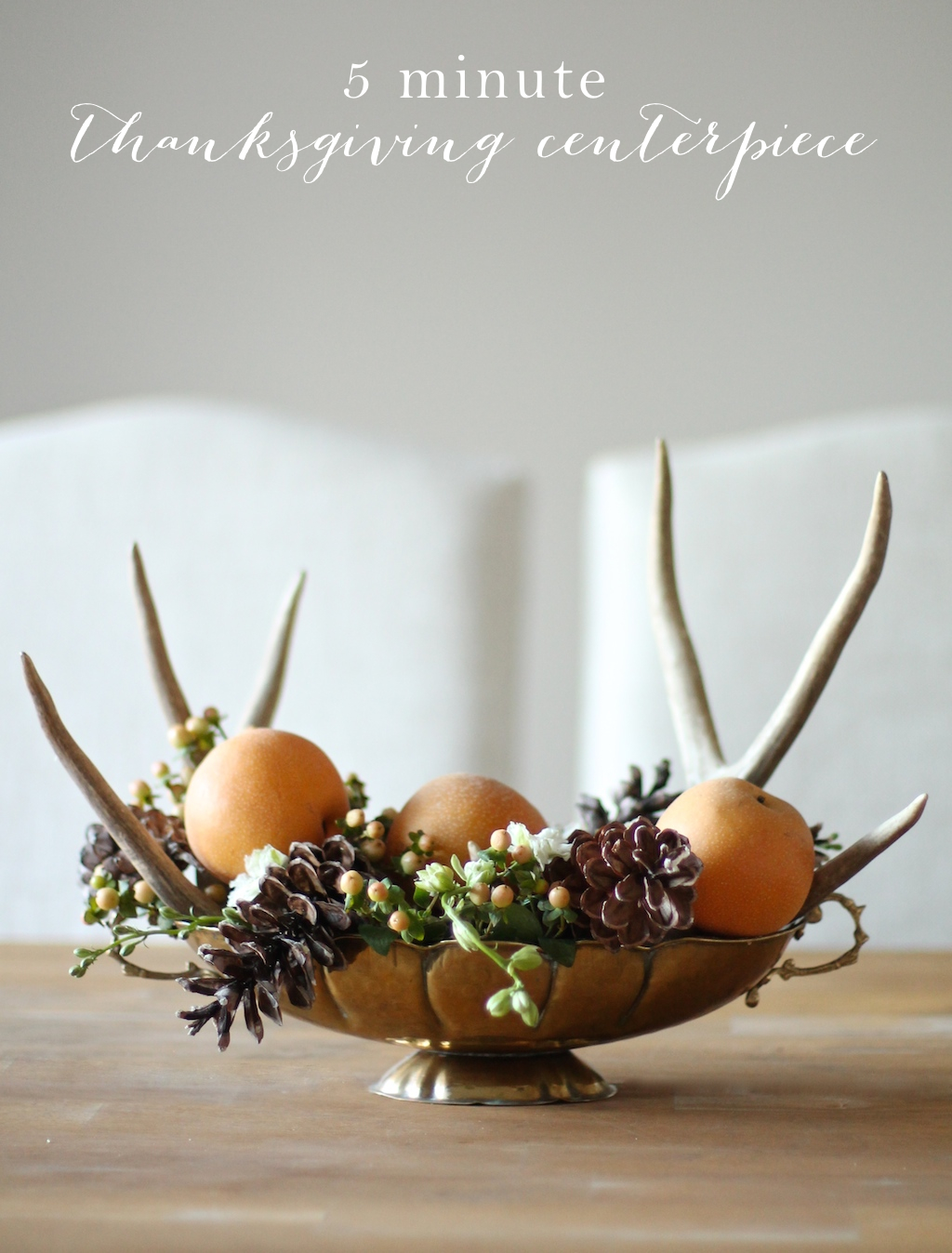 Last minute thanksgiving centerpieces for your holiday
