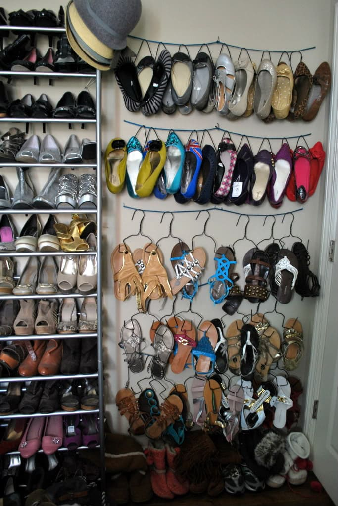 DIY Customized Shoe Hangers