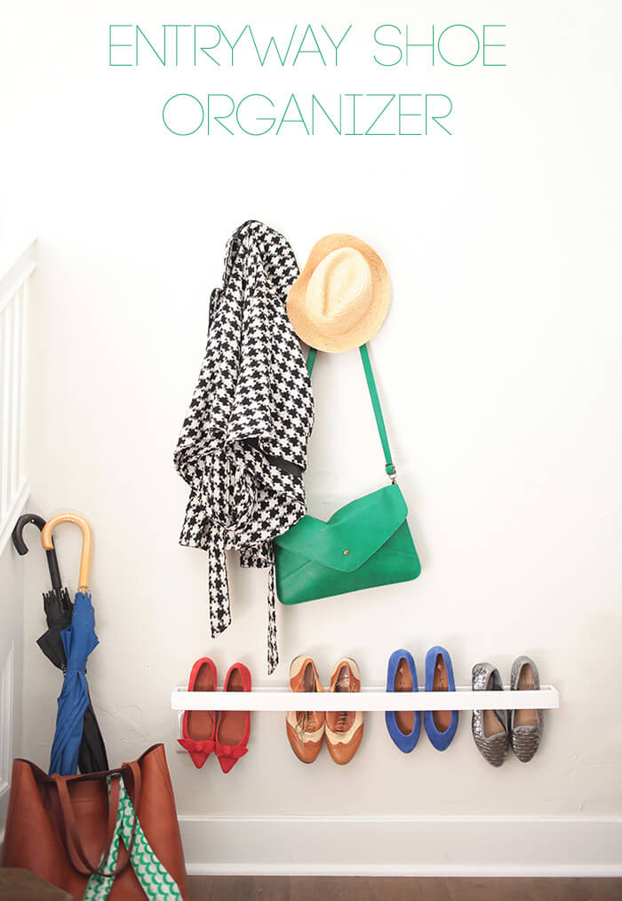 Entry Way Shoe Organizer