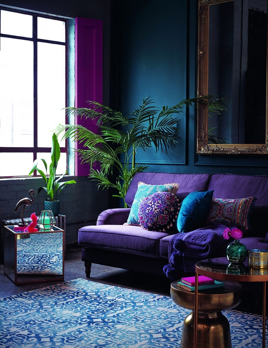 Purple Color Room Designs: How To Decorate With Pantone Color Of The Year 2018