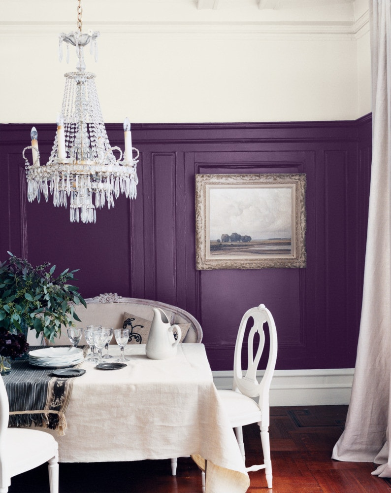 Purple Wall Idea