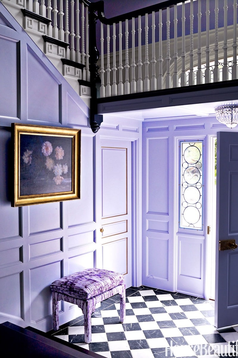 Violet Room Design: How To Decorate With Pantone Color Of The Year 2018