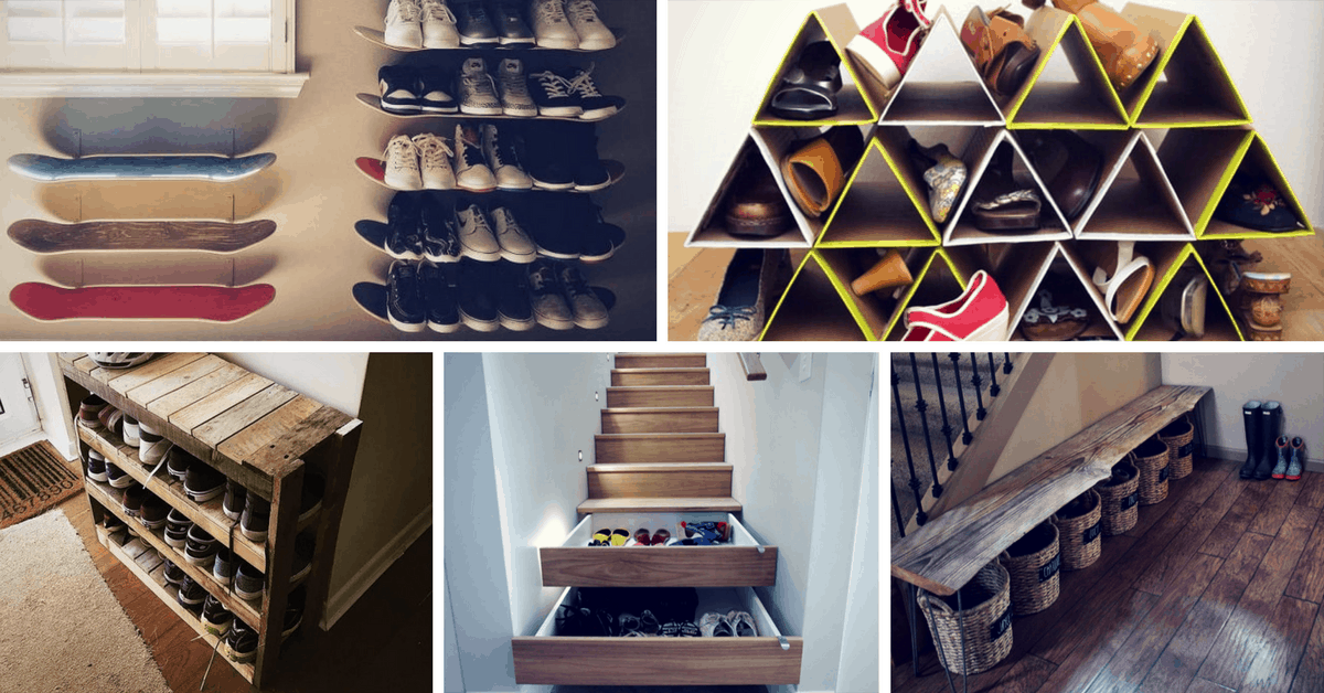 Space Saving Shoe Storage Ideas 37 Space